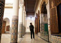 #10 もともと宮殿のマラケシュ博物館
